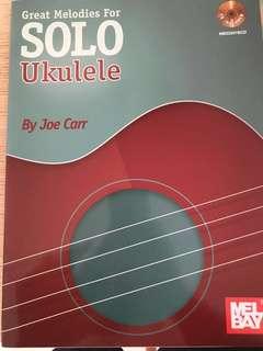 Solo Ukulele fingerstyle book