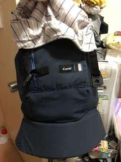 Combi 初生可用bb 嬰兒 孭帶 揹帶 95%new 包初生嬰兒墊