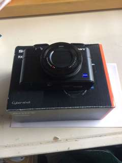 95% new sony rx100 m4 iv