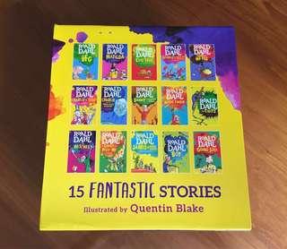 Roald Dahl Collection - 15 books boxed set