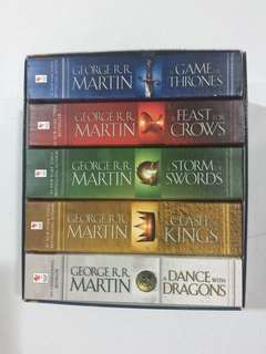 Game of Thrones Book Set of 5