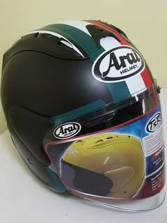 2006*** TSR TRICOLORE  CONVERT ARAI v SEMI Smoke Visor Helmet For Sale 😁😁Thanks To All My Buyer Support 🐇🐇 Yamaha, Honda, Suzuki