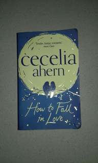 Novel How to Fall in Love by Cecelia Ahern (English ver.)