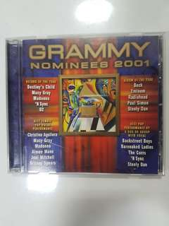 CD - Grammy Nominees 2001
