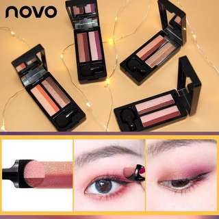 NOVO Floral Silky Touch Lasting Color Eyeshadow