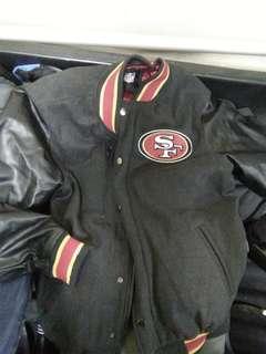 BRANDNEW NFL 49ers SF VARSITY JACKET