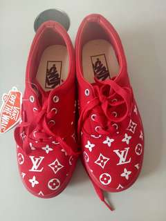 Vans LV inspired Shoes