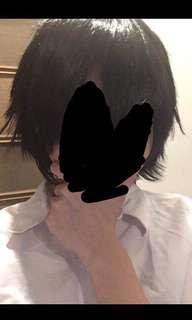 Black male wig