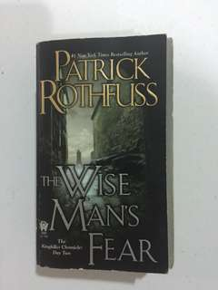Patrick Rothfuss The Wise Mans Fear
