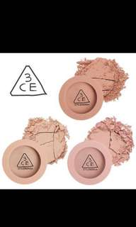 3ce Mood Recipe Face Blush Rose Beige