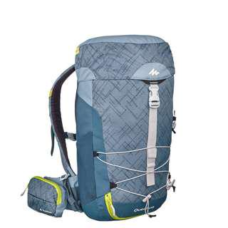 QueChua MH100 20L HIKING BACKPACK - GREY