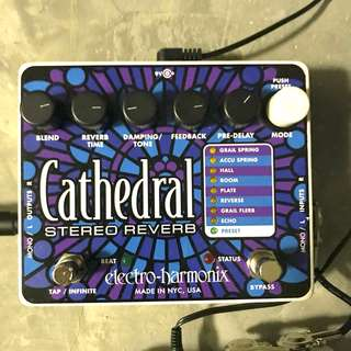 Electro-Harmonix Cathedral Stereo Reverb Pedal EHX
