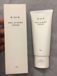 RMK nail and hand cream