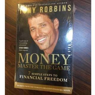 Tony Robbins Softcover Book - Money Master the Game