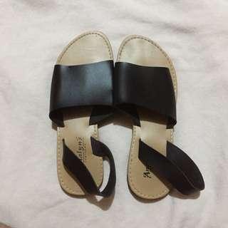 Black Marikina Sandals