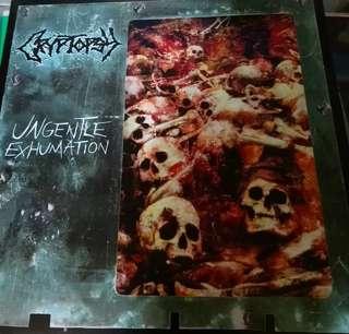 NM Cryptopsy ungentle ex.. 7' record vinyl metal