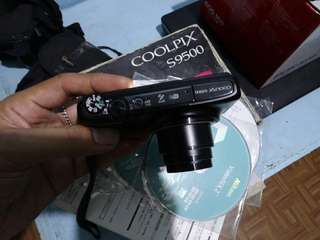 nikon coolpix s9500 wifi 22x zoom  18.1 mp