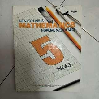 Secondary 5NA math textbook