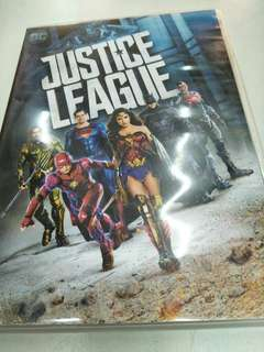 Justice league movie DVD