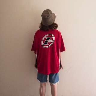🚚 Reebok IVERSON紅色運動罩衫❤️任選賣場兩件減100✨古著復古vintage