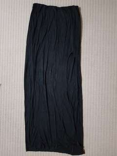 Tobi maxi skirt with side split