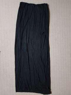 Tobi maxi skirt with side split