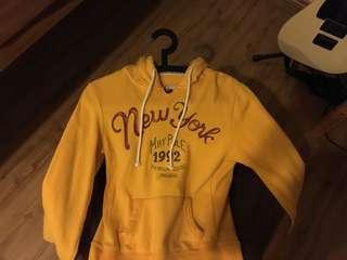 Maypole hoodie (Yellow)