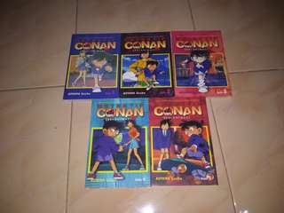 Set Komik Detektif Conan Seri Animasi TV
