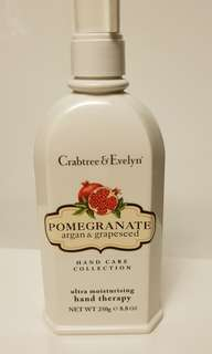 Crabtree & Evelyn pomegranate argan grapeseed