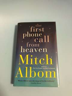 The First Phone Call From Heaven (hardcover) by Mitch Albom