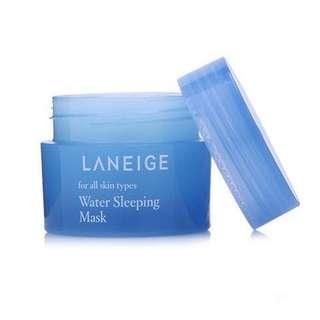 Mini Laneige Water Sleeping Mask (Sample)