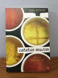 CATATAN MUSIM - TYAS EFFENDI
