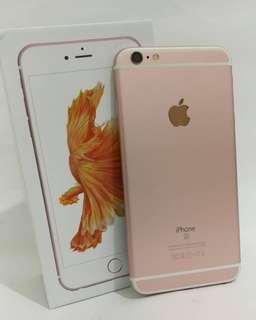 iphone 6s plus 64gb rosegold fullset mulua