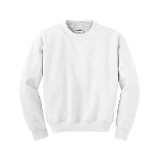 Sweater // Gildan Sweatshirt - White