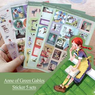 Anne of Green Gables Deco Stickers