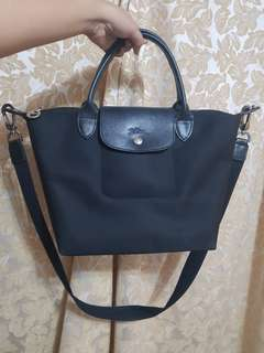 Authentic Longchamp with sling