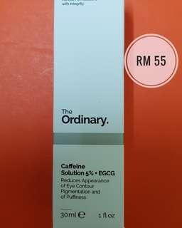 The ordinary Caffein Solution 5% + EGCG