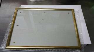 實用 金邊相架 31 x 22cm