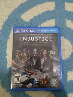 Injustice ultimate edition (ps vita)