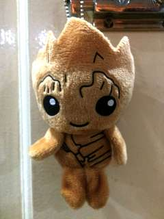 Baby Groot Stuffed Toy Keychain
