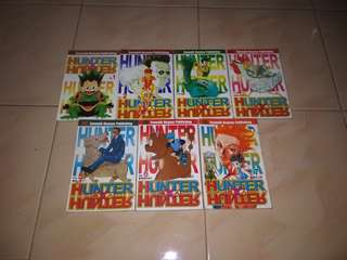 Set Komik Hunter x Hunter
