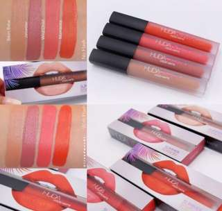 SALE❗️HudaBeauty Bikini Babe Liquid Matte Lipstick Summer Solstice Collection