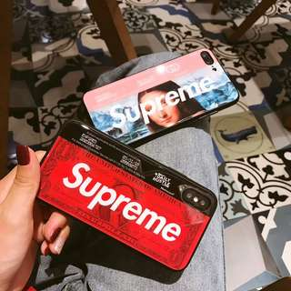 Supreme iPhone Case For iPhone 7/8/X