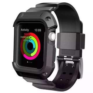 Apple Watch防衝擊錶帶(全保護)