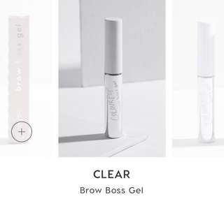 [✖️SOLD] COLOURPOP CLEAR BROW BOSS GEL
