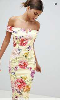 ASOS Missguided Floral Dress