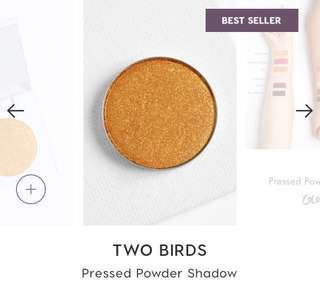 [✖️SOLD] COLOURPOP TWO BIRDS PRESSED EYESHADOW