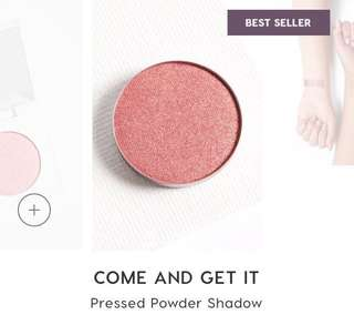 [✖️SOLD] COLOURPOP COME AND GET IT PRESSED EYESHADOW