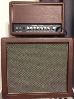 Ceriatone OTS mini and 1x12 WGS ET65 Cab