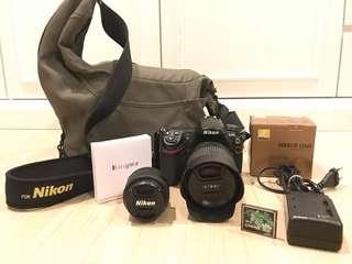 Nikon D300S & 2 lens 18-105mm f/3.4-5.6 & 50mm f/1.8